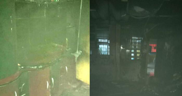 Bomberos sofocan incendio en vivienda de Soyapango