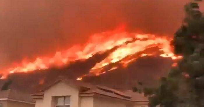 Devastador incendio obligó miles de evacuaciones en el norte de California