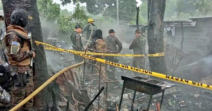 Anciano no vidente muere al incendiarse su vivienda en Ahuachapán