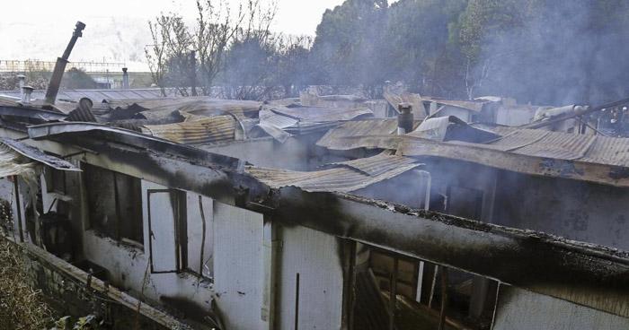 10 mujeres mueren quemadas en voraz incendio en Chile