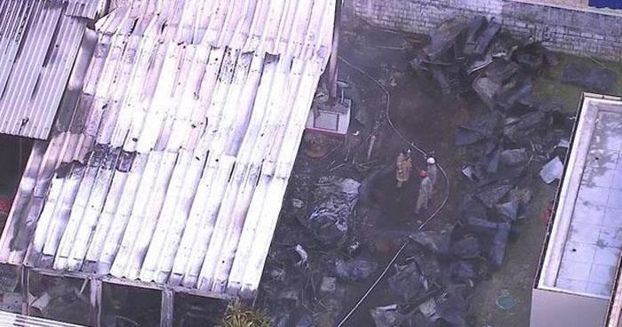 Brasil: 10 muertos tras incendio en el centro de entrenamiento del Flamengo