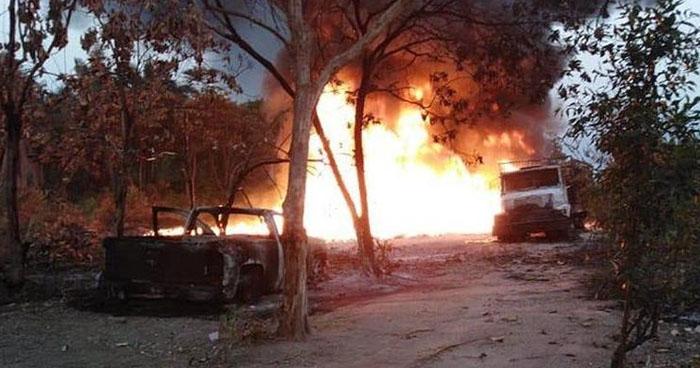 Explota ducto en el sur de México por robo de combustible