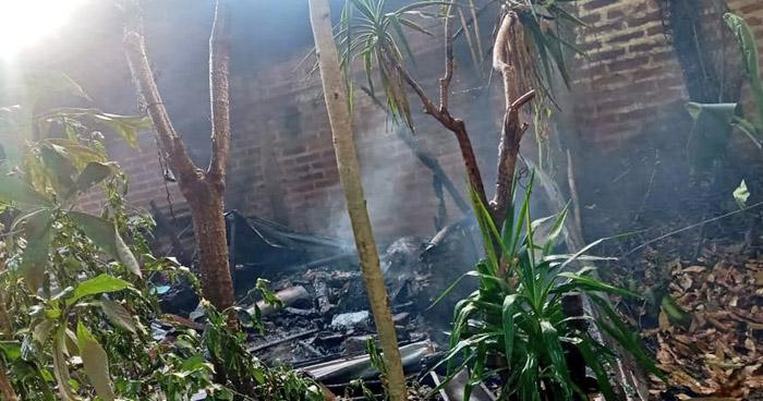 Anciano muere en el incendio de su vivienda en Santa Ana