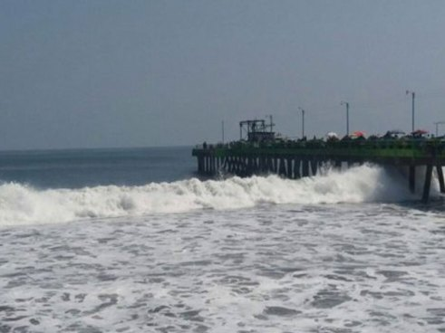 MARN informa sobre el incremento de oleaje durante este fin de semana