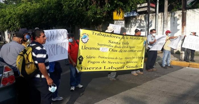 Cierran instalaciones del TSE para impedir inscripción del alcalde de Roberto D'aubuisson