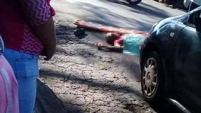 Hombre intentó suicidarse lanzándose sobre vehículos en las cercanías del Mercado de Lourdes