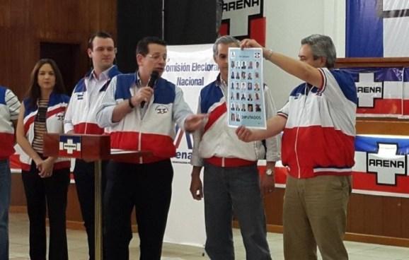 Diputados y alcaldes de ARENA buscaran reelección