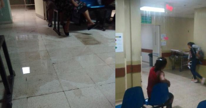 Lluvias provocan inundación en Hospital Santa Teresa de Zacatecoluca