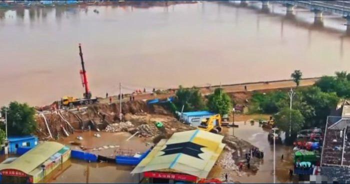 Al menos 15 muertos y más de un millón de afectados por lluvias en China