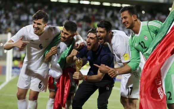 Irán es la tercera clasificada al Mundial de Rusia 2018