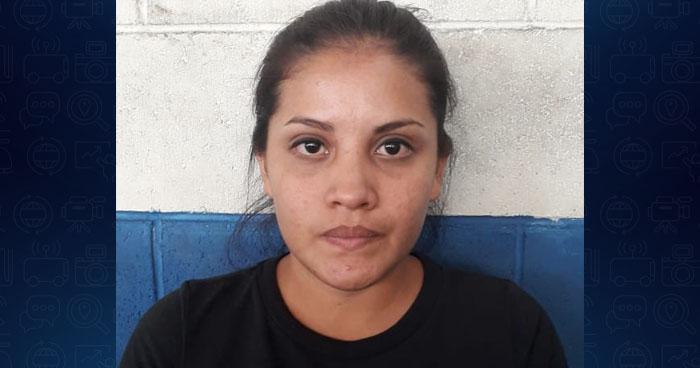 "Captura a ""La jaina del crimen"" en el barrio San Jacinto, San Salvador"