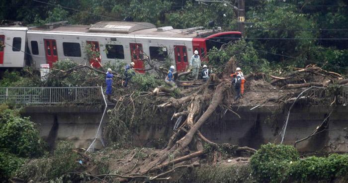 Más de 110 muertos han dejado las inundaciones por fuertes lluvias en Japón