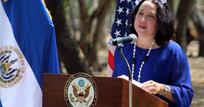 Jean Manes llegará hoy como encargada de negocios de EE.UU. en El Salvador