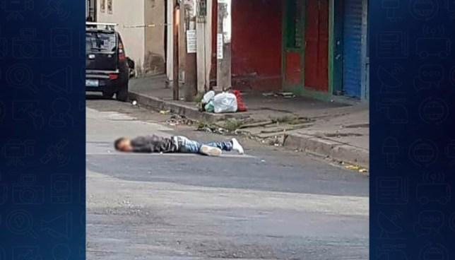 Sicarios asesinan a balazos a un hombre en la ciudad de Santa Ana