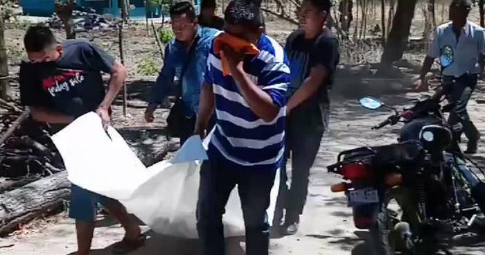 Menor de edad asesinado en San Pedro Perulapán, Cuscatlán