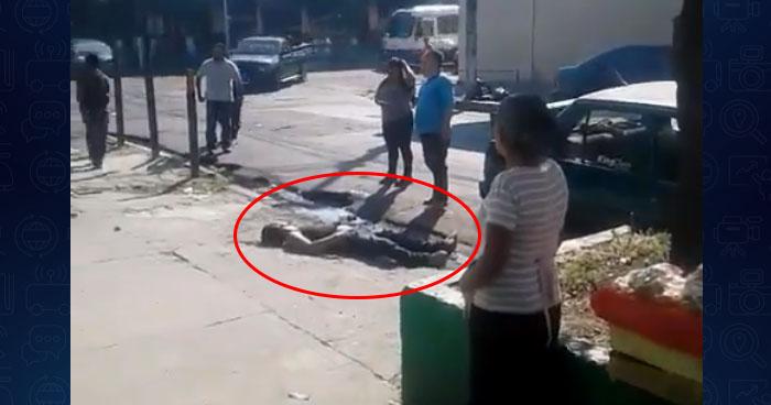 Hombre muere tras recibir descarga eléctrica y caer desde la 2° planta de un edificio en Santa Tecla