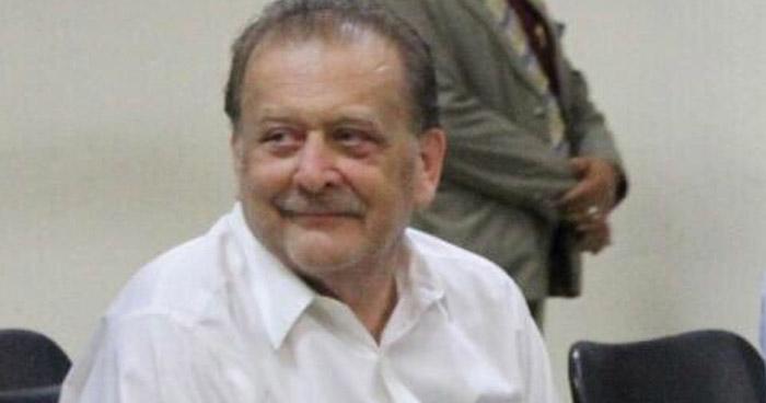 Analizarán libertad condicional anticipada a favor de Julio Rank, condenado por Lavado de Dinero