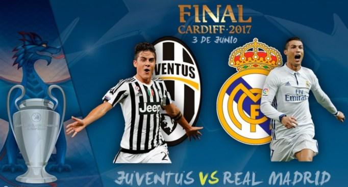 PREVIA | Lista la final de la Champions League entre Juventus y Real Madrid