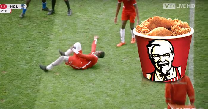 KFC se burla de las exageraciones de Neymar con este comercial