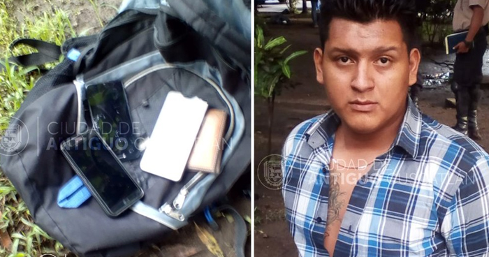 Capturan a sujeto que robó a usuarios de la ruta 101 en Antiguo Cuscatlán