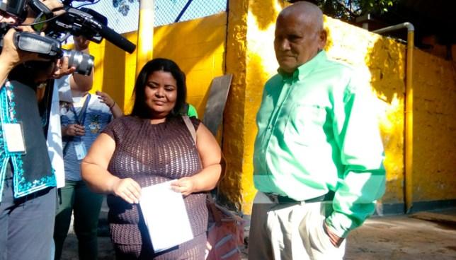 Verónica Figueroa, tras cumplir 15 años de prisiónpor el delito de aborto, queda en libertad