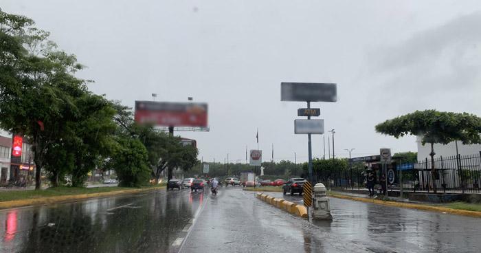 Probabilidad de lluvias y tormentas dispersas con énfasis en el centro y occidente del país