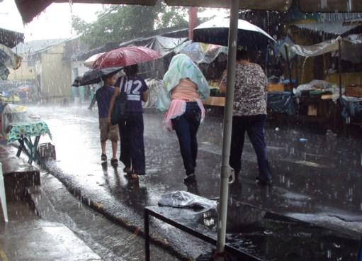 Se esperan lluvias en el territorio nacional
