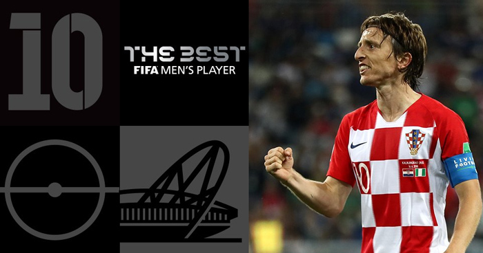 Luka Modrić gana el premio The Best de la FIFA