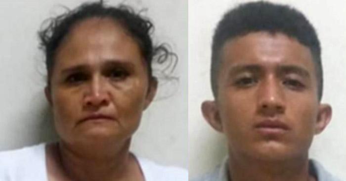 Madre e hijo colaboraban con pandilleros cobrando extorsiones