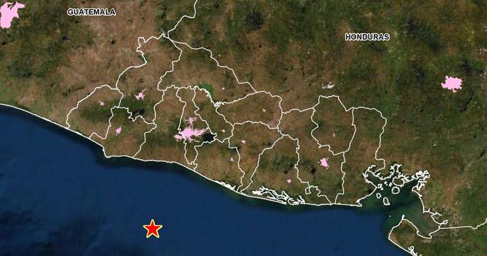 Sismo de 3.5 sacudió la costa del departamento de La Libertad
