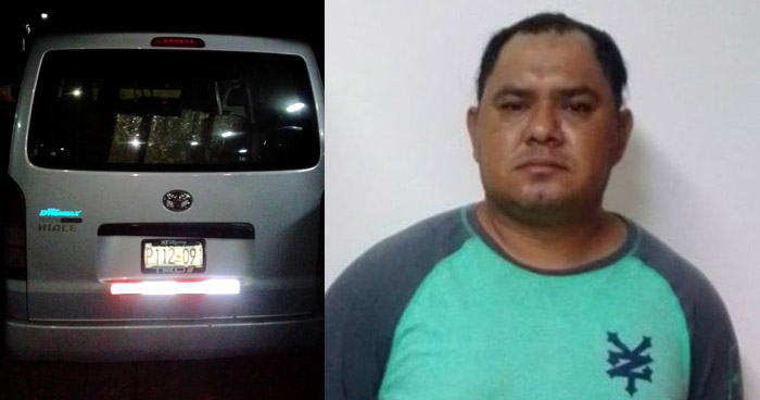 Detenido por contrabando de mercadería en Ahuachapán