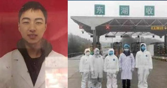 """Joven médico chino muere al trabajar 10 días sin descanso contra el """"Coronavirus"""""""