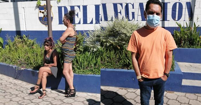 Médico del ISSS detenido junto a trabajadoras del sexo en San Salvador