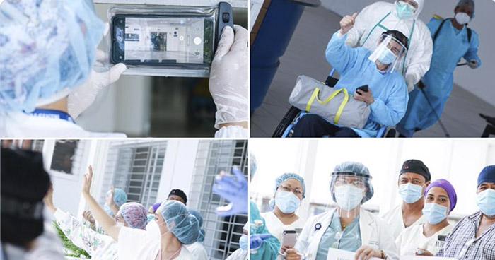 Una doctora, tres médicos y un enfermero superan el COVID-19 en Hospital Rosales