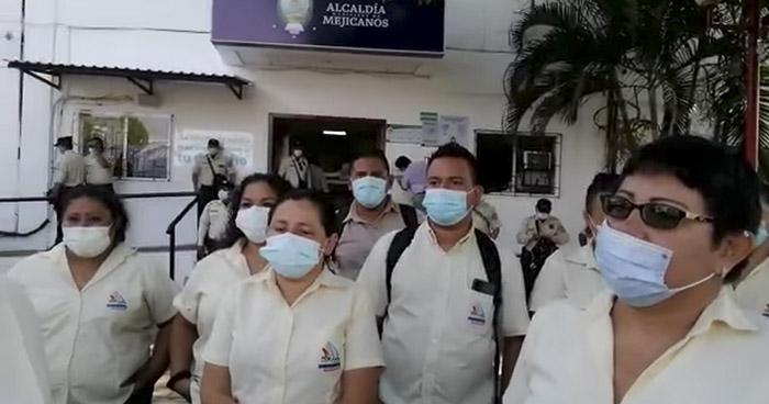 Denuncian despidos injustificados en alcaldía de Mejicanos