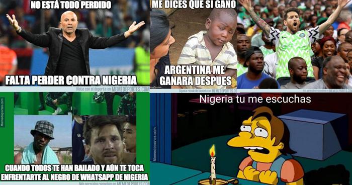 Los MEMES de la victoria de Nigeria 2-0 a Islandia, Messi es el protagonista
