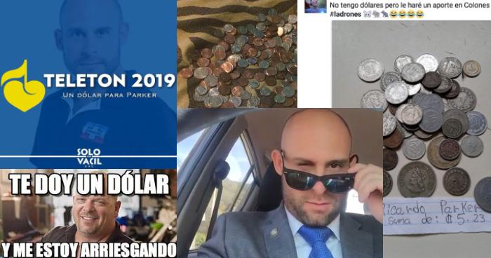 #UnDolarParaParker: Los mejores MEMES de la campaña para que al diputado Velásquez Parker le alcance el sueldo