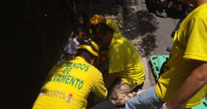Niño de 10 años lesionado tras atropellado por un taxista en calle San Marcos