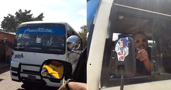 Motorista de Ruta 30-A obstaculizó paso de una ambulancia por conducir en sentido contrario