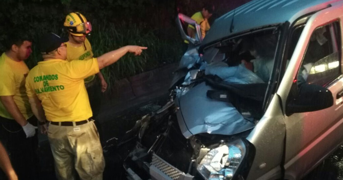 Tres personas resultaron muertas tras grave accidente de transito en la carretera de Oro