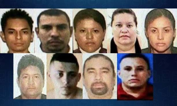 Prisión para 10 miembros de una red de narcotráfico ligada a exalcalde de Carolina