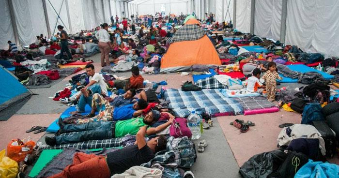 Migrantes de la caravana planean declararse en huelga de hambre para solicitar asilo a EE.UU