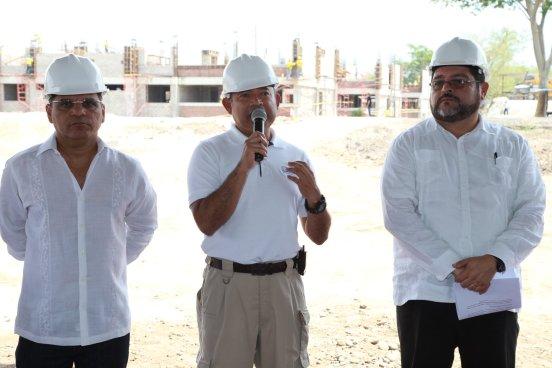 Autoridades de Seguridad verificaran avance de granja penitenciaria de Zacatecoluca