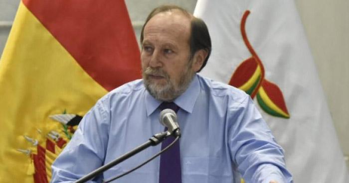 FELCC confirma aprehensión del Ministro de Salud