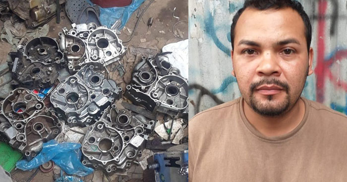 Modificaba placas de circulación y series de vehículos en San Salvador