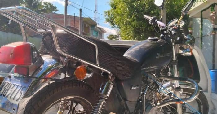 Capturado por vender motocicleta con reporte de robo