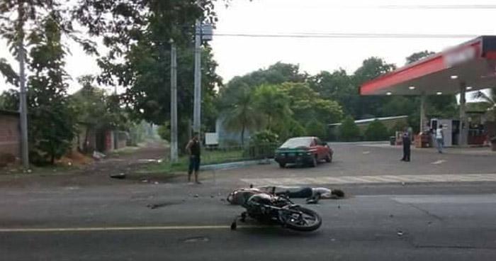 Motociclista lesionada tras ser arrollada en carretera Troncal del Norte