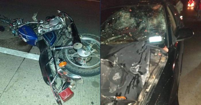 Agente del CAM muere en accidente de tránsito sobre carretera a Metapán
