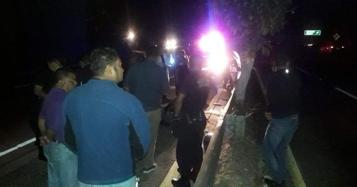 Motociclista falleció tras accidentarse en carretera a Comalapa