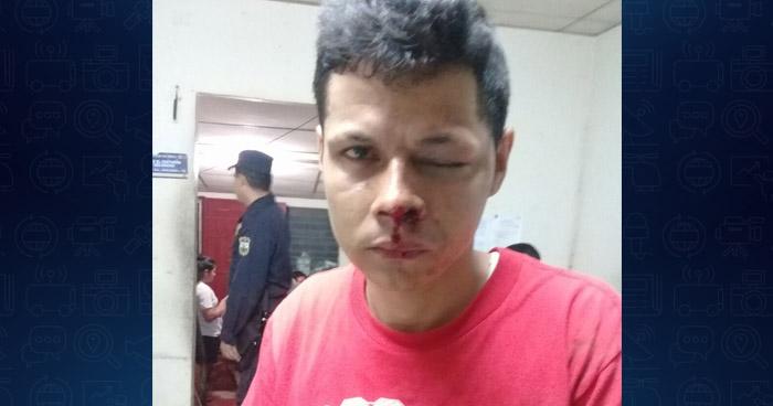Capturan a motociclista ebrio luego que atropellara a una mujer en La Paz